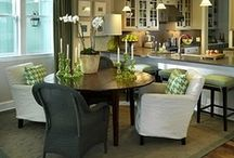 living/dining room / by Mandy Page