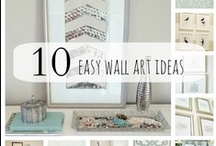 Crafting | Wall Art / by Hilary Richards