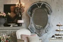 L'oeil-de-boeuf windows/mirrors / by Debbie @ Confessions of a Plate Addict
