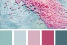 Home - Colour Palettes / Colour Swatches for home and scrapbooking / by Jennifer Mackie