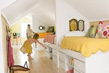 Home - Kid's Bedrooms / by Jennifer Mackie
