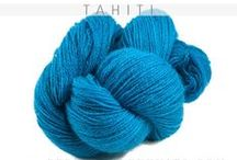 100% Cashmere Yarn Lace  / Lace Weight Yarn.  Rich, Saturated, Bold Color / by Pepperberry Knits