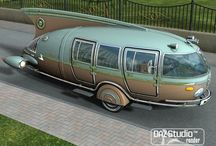 Interesting Campers / Various camper styles / by Tony Wasion