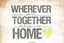 home sweet home / by Brooke Hunt