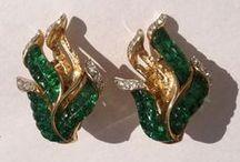 TRIFARI / Vintage Jewelry Signed By: Trifari, Crown Trifari, Alfred Philippe / by Dana Allman