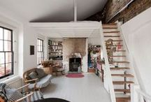 HOME - lofts / ...use that vertical space... / by Becca Kae