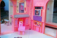 I was really spoiled... / These are the toys of my childhood. Mainly Barbies and Polly Pockets. I was pretty dang lucky. / by Aubrey Yorko