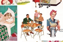 back in time vintage 1950s 1960s 1970s some 1940s / childhood memories and more / by RexAnne Foti