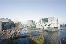 Masterplan IJDock (Amsterdam, the Netherlands) / Size: 89,000 m2 Status: Completed 1997 - 2012  Address: IJDock, Amsterdam, the Netherlands Client: Gemeente Amsterdam, Rijksgebouwendienst Design Team: Dick van Gameren, Bjarne Mastenbroek  / by mecanoo