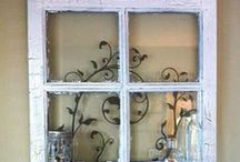 Old Windows / by Pam Feather-Estrada