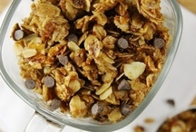 Food to Crave - Breakfast & Granola / by Missy Campbell