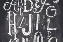 Typography / by The Paper Nut