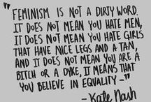 Feminism / by CJ Wright