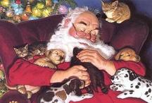 Kerst  Kids en Kitty's / by Lammie Kroezen