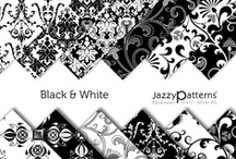 Black & White & Grey all over / by Delighted