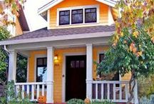 Funky Homes / Eco-friendly...small footprint...homey / by Dr. Pam