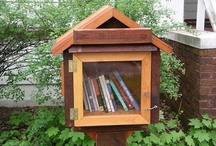 Books and where they reside. / Books, places where books are kept, and more... / by Dr. Pam