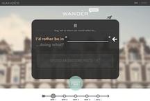 web design inspiration / by Chad Watson