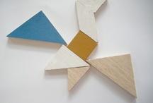 Tangram color blocking / by Sinja Bloeme