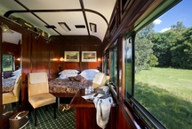 The Suites / There are three types of accommodation on board the train - Royal, Deluxe and Pullman Suites.   / by Rovos Rail Tours