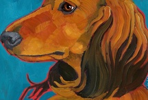 dachshunds / by Kathie Lilly