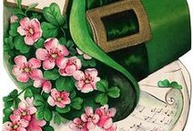 Irish Greetings! / I'm not the least bit Irish...but i love the green color and the lucky clover found in these cards.... / by DK Montague