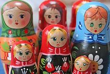 Russian Dolls! / by Anna D.