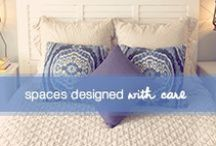 Spaces Designed With Care / Creative tips to capture the inner beauty of your space, reinvent your home and make life less complicated. / by Dove