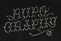 Typography / by Jane Plüer