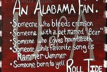 Bama!! ROLL TIDE! / Love My Crimson Tide!!! / by Debbie Messer
