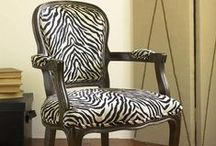 Animal Print Home Decor / Take a walk on the wild side!  Animal print pieces make for great accents throughout the home.  From leopard, to zebra, to cowhide, all can be incorporated into any style of home.  Sofas, bedding, ottomans, rugs, cabinets, chairs, lighting, sinks, and more. / by Homeclick.com