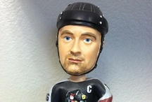 Condors Bobbleheads / A collection of Bobblehead Giveaways in Condors history. Jamie Cooke was the first one, during the 2001-02 season. / by Bakersfield Condors