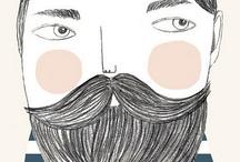l'uomo illustrato / by amy louise