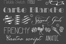 Fonts / by Julie Thompson