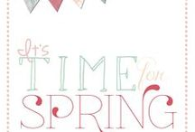 Spring / by Julie Thompson