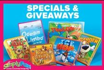 SimplyFun Specials and Giveaways  / Check back for customer specials! / by SimplyFun
