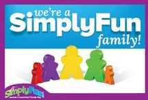 SimplyFun Families!  / We are all part of a SimplyFun Family! Wanna know more about what that means? Check out this board! We will be posting them throughout the year so be sure to check back! Want the opportunity to be featured? Email us at marketing@SimplyFun.com for more info!  / by SimplyFun