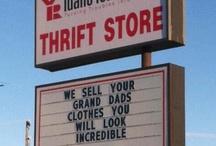 thrift / by Melissa Moran