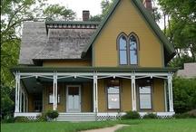 Victorian: Carpenter Gothic & Gothic Revival / by Donna Dixon