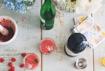 Cheers! / Inspirational cocktail recipes. Ideas and collections including: cocktails, spirits, champagne, beer, beertails and wine.  / by Amanda Carter