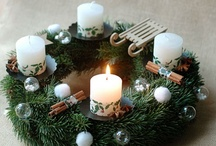 Advent Wreath Ideas / by Marta Cimmere