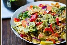 Meatless Pasta Recipes / Pasta recipes with delicious vegetarian sauces and toppings  / by Four Green Steps