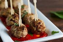Recipes - kebabs & meatballs / by Donna Casey