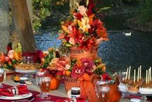 Autumn Wedding Ideas / A board containing a variety of ideas and styles for autumn weddings, showers, engagement parties, and other special events. Includes apple, cider mill, and pumpkin themed inspiration and ideas. / by Something Floral