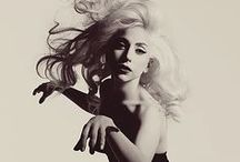 """Lady Gaga / """"You laugh at me because I'm different. I laugh at you because you're all the same."""" / by Nicole Angeline"""