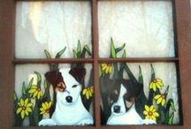 Windows & dish crafts / by Roberta Belwood