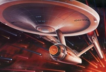 NCC - 1701 / To boldly go where no man has gone before. / by Alfonso Vallarta