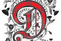 """""""D"""" / by Diane Reheis"""