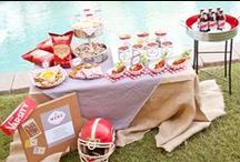 Are You Ready For Some Football?.... / Everything you need to get the season started!  Recipes, fanwear, tablescape ideas and great stuff for the guys:) / by Pam Whimsicalvintage