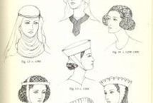 Head Games: Head Wear 600-1600 SCA / All types of head covering for all cultures and eras / by Tani Mough